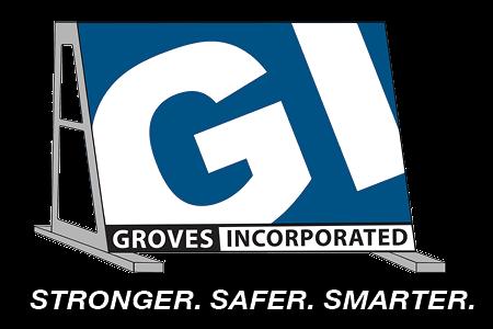 Groves Logo White Option
